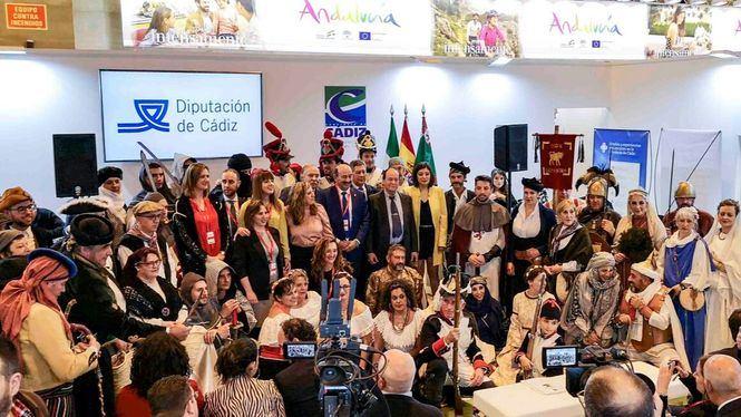 La Diputación de Cádiz califica su presencia en Fitur de muy brillante