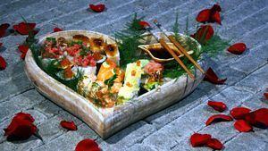 Cena romántica con el Sushi Box San Valentín del Grupo Sushita