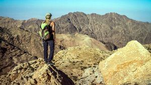 Regresa a Jordania la ruta de senderismo Thru Hike