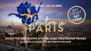 Showtime París llega a los principales escenarios de la capital francesa