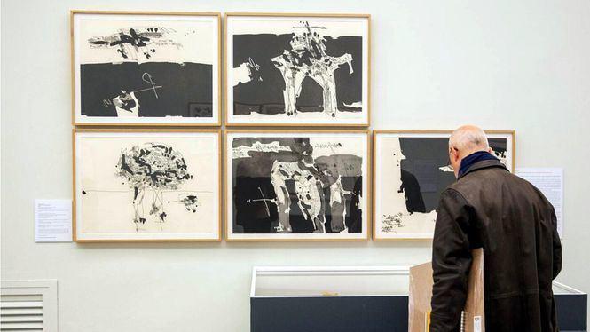El Museo del Grabado Español Contemporáneo acoge la exposición Descubrimientos Millares, 1959-1972