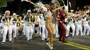 Luz, calor y samba esperan en Uruguay