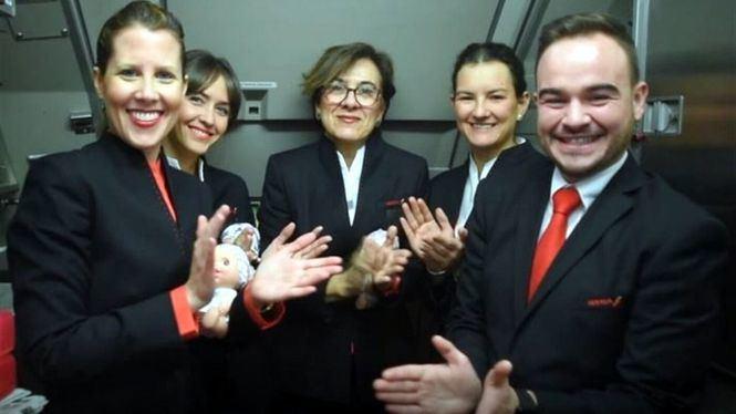 Iberia se sumó al aplauso de Fundación Juegaterapia