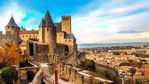 Languedoc. Carcasona