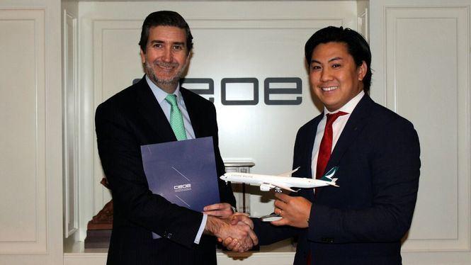 Cathay Pacific se integra en la Confederación Española de Organizaciones Empresariales (CEOE)