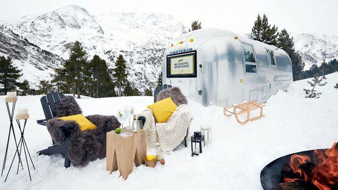Schweppes Airstream Experience, glamping de lujo a 2.000 metros de altitud