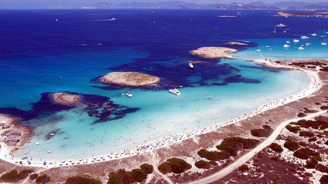 La playa de Ses Illetes, entras las mejores del mundo