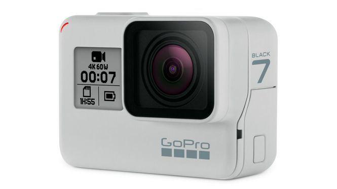 GoPro lanza una edición limitada de la HERO7 Black en color Dusk White