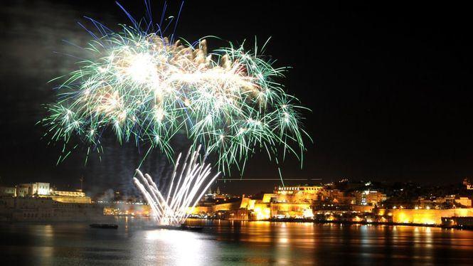 18ª edición de Festival Internacional de fuegos artificiales de Malta