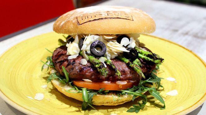 La Burrata Cheese, hamburguesa especial de marzo en Timesburg