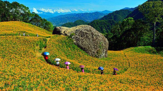 La belleza natural de la Costa Oriental de Taiwán