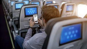 Aeroméxico ofrece un servicio de mensajería instantánea gratis a bordo