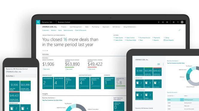 Microsoft Dynamics 365 Business Central afianza su implantación en España