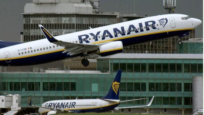 El índice de puntualidad de Ryanair alcanza el 93 % en febrero