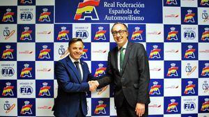 Iberia Express, aerolínea oficial de la Real Federación Española de Automovilismo