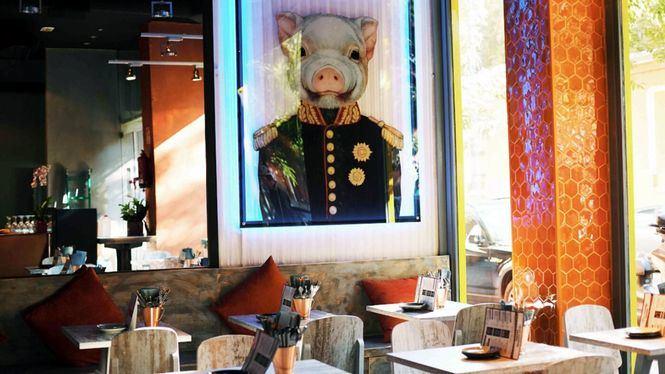 Asia A.S.A.K.O. el nuevo restaurante panasiático en pleno corazón del barrio madrileño de Chamberí