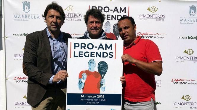 Marbella acogerá un torneo en homenaje a exjugadores precursores de este deporte