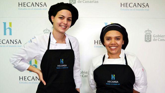 Dos alumnas de Hecansa participan en la final del concurso Protur Chef 2019