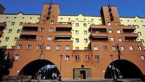El edificio de viviendas sociales del Karl-Marx-Hof