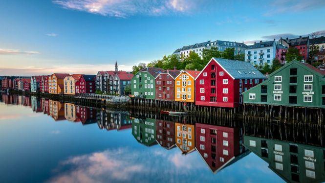 Finnair abre una nueva ruta a Trondheim (Noruega) en colaboración con Wideroe