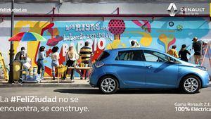 Renault lanza FeliZiudad en Spotify, la primera campaña Happy Targeting en España