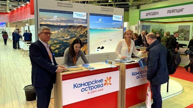 Islas Canarias promociona su oferta turística en la feria de Moscú