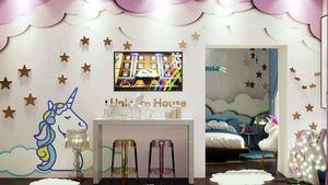 The Unicorn House, es posible alojarse en la casa inspirada en el animal mitológico