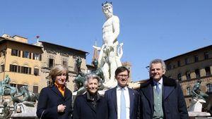 Salvatore Ferragamo restaura la Fontana del Nettuno de Florencia