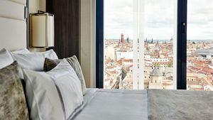 La habitación de hotel más cara de Madrid está en el VP Plaza España