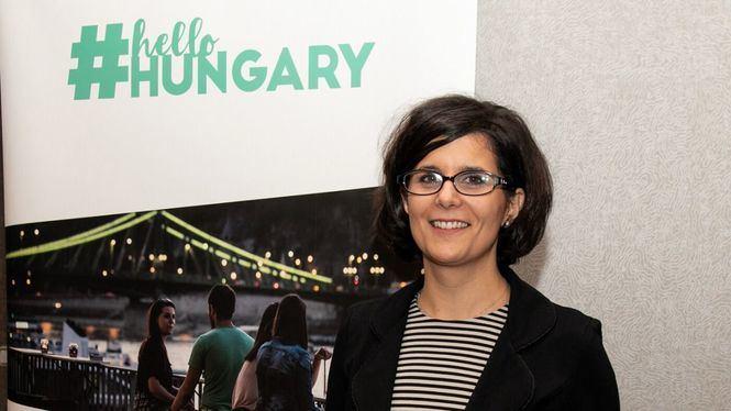 Zsuzsa Szégner, responsable de Desarrollo Turístico de Hungría en España