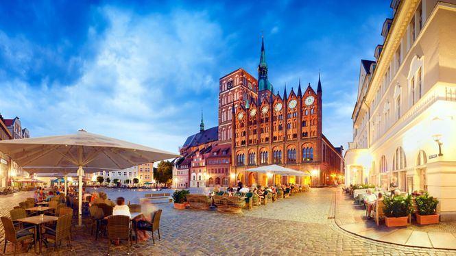 Los cascos antiguos de Stralsund y Wismar