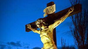 Cofradía Penitencial de Nuestro Padre Jesús atado a la Columna. Cristo de la Agonia