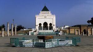 Mausoleo de Mohamed V. Rabat