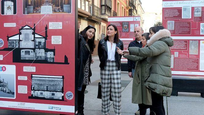 Exposición sobre la historia de la Biblioteca de Menéndez Pelayo