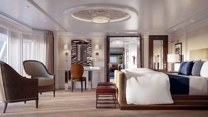 Ralph Lauren estrena sus espectaculares suites a bordo del crucero Riviera