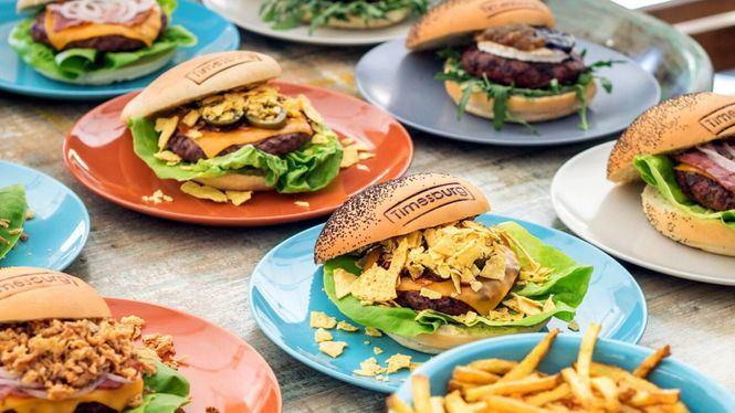 Cuatro hamburguesas por Sant Jordi