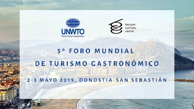El Foro Mundial de Turismo Gastronómico, se celebrará en San Sebastián
