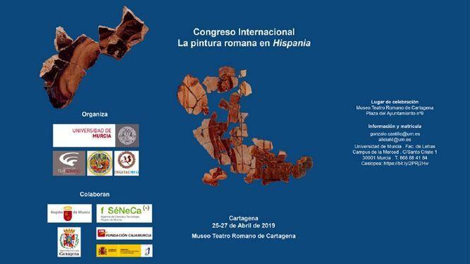 El congreso 'La Pintura Romana en Hispania' en el Museo Teatro Romano de Cartagena