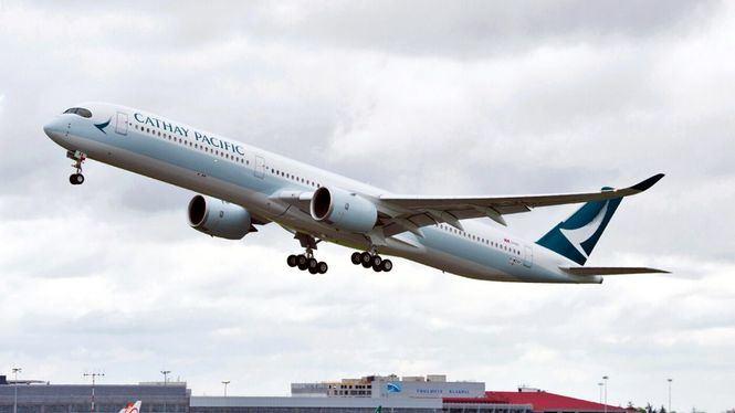 Cathay Pacific incrementa un 9 % su capacidad en Europa durante marzo
