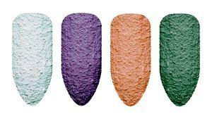Pretty Gritty: geles de uñas con textura arenosa