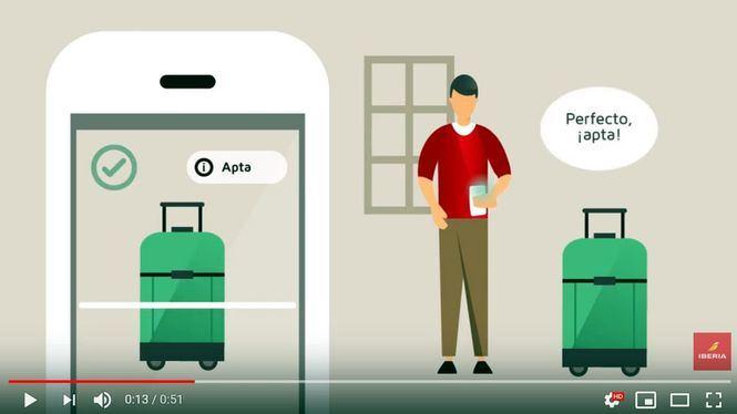 ¿Tu maleta cabe a bordo? Escanéala con el móvil para comprobarlo