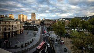 Vistas desde NYX Hotel Bilbao