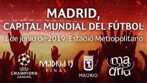 Madrid recibe la copa de la Champions League 2019