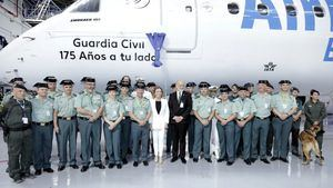 Air Europa rinde homenaje a la Guardia Civil con motivo de su 175 aniversario