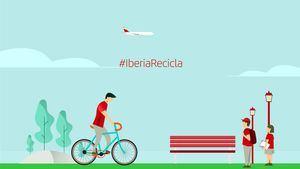 #IberiaRecicla los residuos generados a bordo