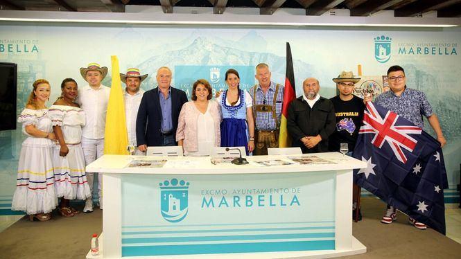 Marbella acogerá el primer Festival, Pueblos del Mundo