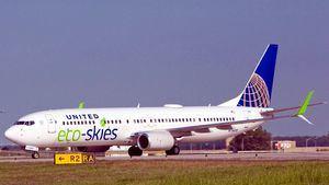 United Airlines, acuerda comprar10 millones de galones de biocombustible de aviación