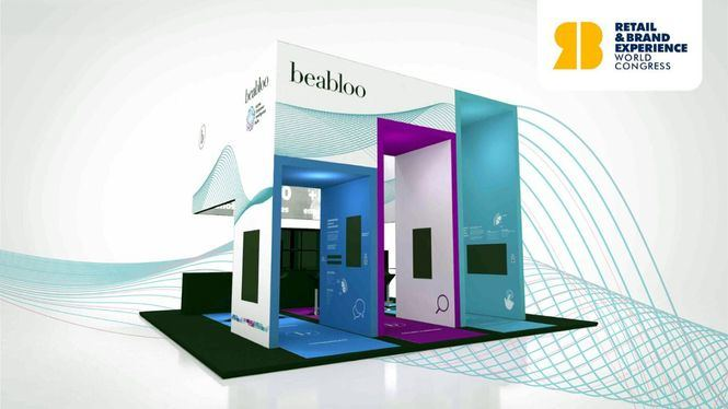 Beabloo expondrá sus soluciones de cartelería digital en el Retail & Brand Experience World Congress