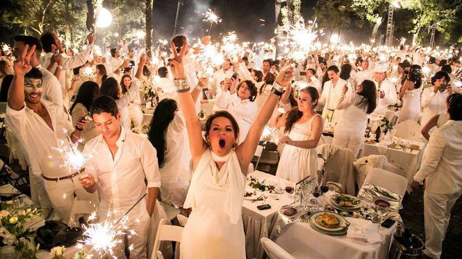Vuelve a Madrid Le Dîner en Blanc, el picnic secreto más exclusivo