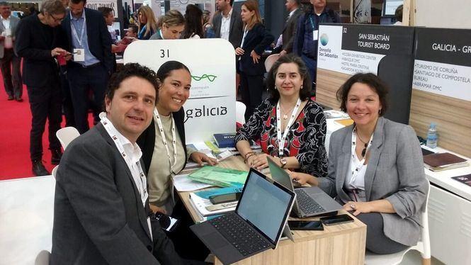 Galicia se promueve como destino para la organización de congresos en la feria IMEX de Frankfurt